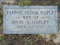 Fannie Olivia Dantzler <i>Ruple</i> Harley