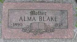 Alma <i>Nystrom</i> Blake