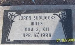 Lorna <i>Sudweeks</i> Mills