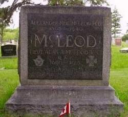 Lieut Alan Arnett McLeod