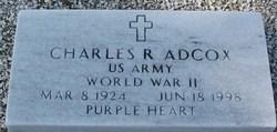 Charles R Adcox