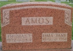 Oma Jane <i>Shelby</i> Amos