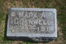 Mary L <i>Cornwell</i> Bidwell