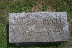 Emma <i>Wickman</i> Bidwell