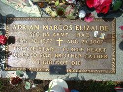 Sgt Adrian Marcos Elizalde