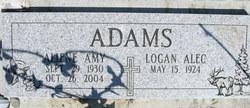 Aliene Amy <i>Weems</i> Adams