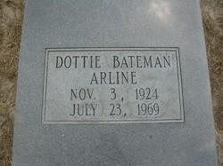 Dottie <i>Bateman</i> Arline