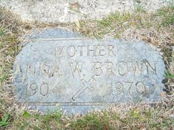 Anna Wilhelmina <i>Schultz</i> Brown