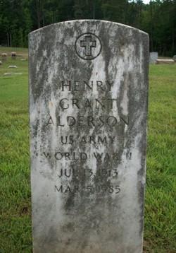 Henry Grant Alderson