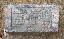 Zeda Agatha Burns