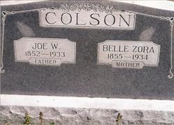 Belle Zora <i>Hargrove</i> Colson