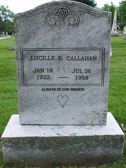 Lucille Elizabeth LuLu <i>Sickler</i> Callahan