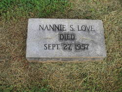 Nannie Draughon <i>Smith</i> Love