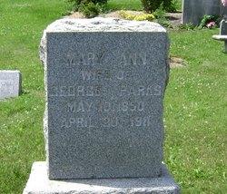Mary Ann <i>Brumbaugh</i> Parks