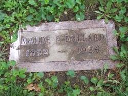 Maude E. <i>Cullom</i> Bullard