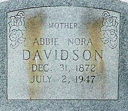 Abbie Nora <i>Franks</i> Davidson