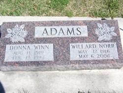 Donna <i>Winn</i> Adams