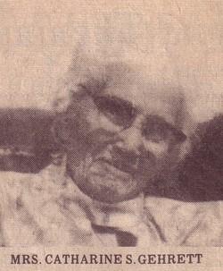 Catharine S. <i>Smith</i> Gehrett