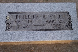 Phillipa R. Orr