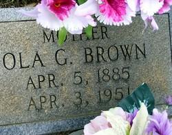 Ola G. Brown