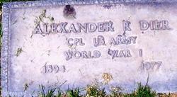 Alexander R. Dier