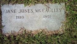 Jane <i>Jones</i> McCaulley
