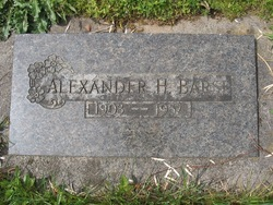 Alexander H Barsi