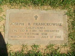 Corp Joseph Ralph Franckowiak