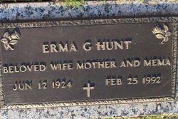 Erma G. Hunt