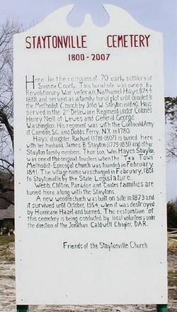 Staytonville Methodist Episcopal Church Cemetery
