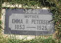 Emma Matilda <i>Backman</i> Peterson