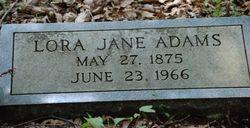 Lora Jane Adams
