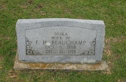Nora <i>Carlton</i> Beauchamp