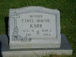 Ethel M. Karr