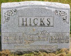 Byrde Ethel <i>Gibbs</i> Hicks