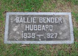 Sallie Bender Hubbard