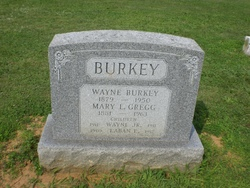 Mary L <i>Gregg</i> Burkey