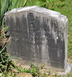 Hannah E. <i>Salyers</i> Thompson