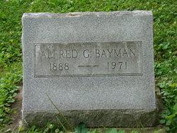 Alfred G. Bayman