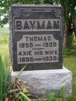 Alice Norris <i>Axie</i> Bayman
