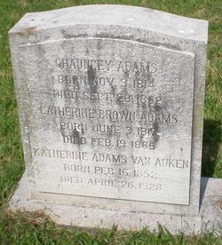 Catherine <i>Brown</i> Adams