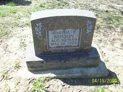 Martha Pairlee Armetha <i>Babb</i> Benson