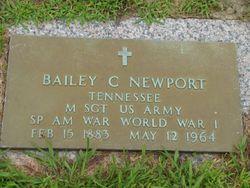 Bailey C Newport
