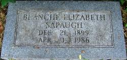 Blanche Elizabeth Sapaugh