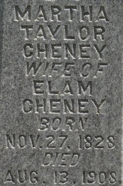 Martha <i>Taylor</i> Cheney
