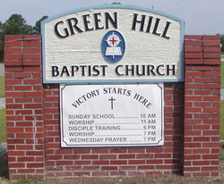 Green Hill Baptist Cemetery