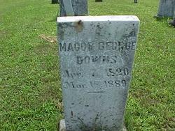 Maj George Downs