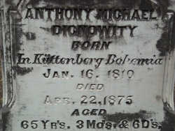Dr Anthony Michael Dignowity