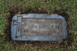 John Julius Nicholas Babush, Sr