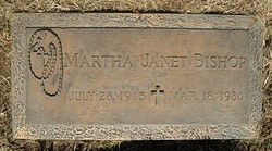 Martha Janet <i>Pratt</i> Bishop